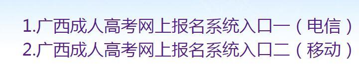 2020年广西省南宁市成人高考成绩查询入口