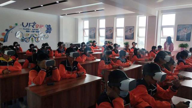 5G VR未來教室,助力課堂高效教學