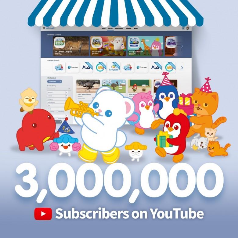 巴塔木YouTube粉丝破300万,十年沉淀打造儿童教育IP新生态