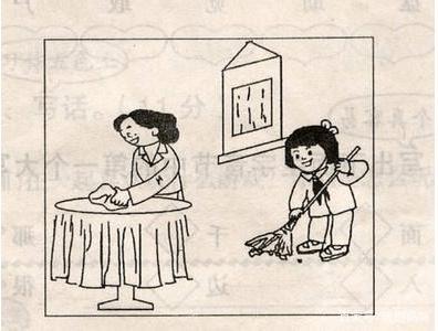 一年级语文的看图写话图片
