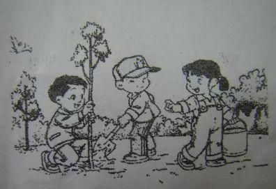 二年级植树节看图写话(含答案参考)