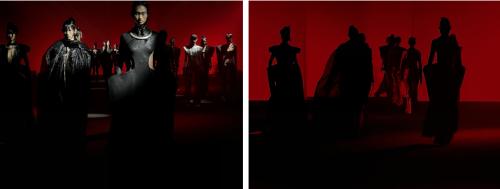 马兰戈尼上海联手中国设计欧敏捷亮相2022SS上海时装周
